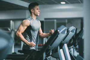 Cardio equipment at S Square Fitness Club